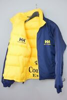 Men Vintage Helly Hansen Jacket Reversible Down Filled Warm Winter M ZGA39
