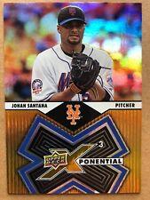 2009 Upper Deck X Xponential #X3-JS Johan Santana Baseball Card