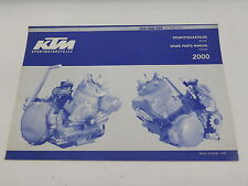 KTM 320480799 2000 250 / 300 / 380 ENGINE SPARE PARTS MANUAL