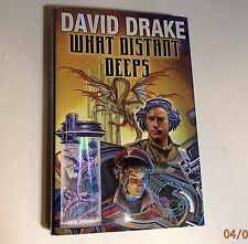 Lt. Leary: What Distant Deeps by David Drake (2010, HD/DJ) 1st Ed. 1st Print