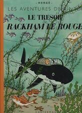 Tintin. Fac similé novembre 2002. Trésor de Rackham le Rouge. EO 1944. état neuf