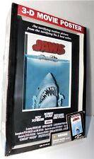 McFarlane Toys Jaws 3D Movie Poster Sculpture statue New In Box