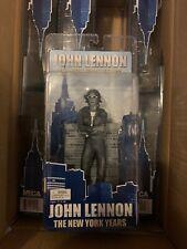 NECA Beatles John Lennon The New York Years Black & White Action Figure Limited