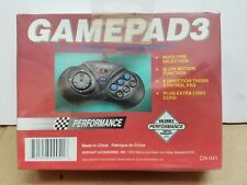 NEW Sealed Performance Controller Gamepad 3 for sega Genesis Slow Motion / Turbo