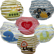 6 Pack  Potty Training Pants Boys Design Babyfriend Kids Baby Toddler Toilet