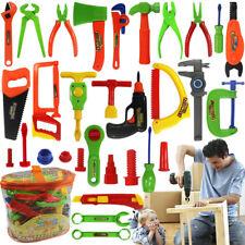 Qualität 1Set Kinder Spielzeug Werkzeug Werkzeugkoffer Reparatur Zubehör Plastik