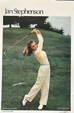 JAN STEPHENSON LATE 70's SPORTS ILLUSTRATED POSTER