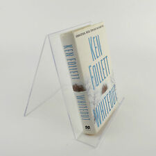 10 x Book Magazine Stand with Lip - 200mm W x 250mm H - Clear Acrylic - PDS8273