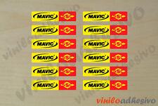 PEGATINA STICKER VINILO Mavic SSC llantas autocollant aufkleber adesivi