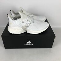 Adidas Alphabounce Instinct Running Shoes Men's Size 11.5 White BD7111