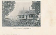 FARMINGTON ME – Nordica's Birthplace - udb (pre 1908)