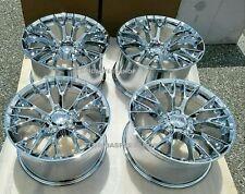 """Chrome C7-Z06 Style Corvette Wheels SET FITS: 1997-2004 C5 17X9.5/18X10.5"""""""