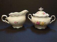 Schumann Bavaria, Victorian Rose, Sugarbowl & Creamer, FREE SHIPPING, CH10118
