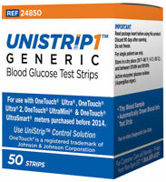 UniStrip Test Strips for Use with Onetouch Ultra Meters - 100 Count *NEW!*