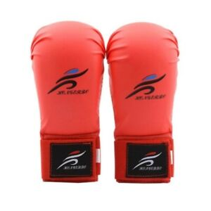 KARATE Gloves for Boxing Fitness Taekwondo Free Fight MMA Hand Protector Kids...
