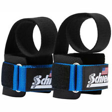 Schiek Sports Model 1000-PLS Deluxe Power Lifting Straps - Blue