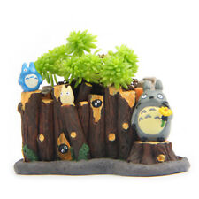 Studio Ghibli My Neighbor Totoro Mini Flower Pot DIY Figure Home Yard Decor