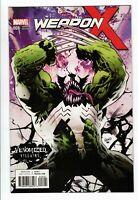 2017 Marvel Comics WEAPON X no. 8 variant Venomized NM 1223