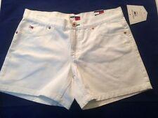 "Tommy Hilfiger Girl Jeans Lola White Denim Shorts 5"" Inseam Junior Sz 5"
