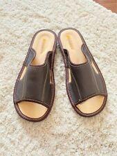 Men's Slipperes Scuffs Genuine Leather Size: 8,10,11,12,13