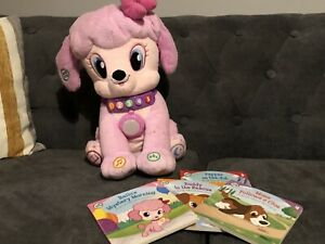 LeapFrog Storytime Bella 23cm Interactive Plush Pink Soft Toy Dog