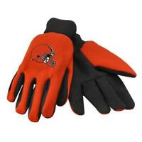 Cleveland Browns Adult Sport Utility Two Tone Gloves *Brand New* No Slip Grip