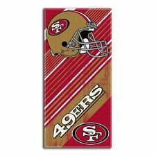 NFL San Francisco 49ers Beach Towel 30x60