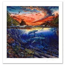 "Robert Lyn Nelson ""Hana's Secret Magic"" Limited Edition Mixed Media Art"