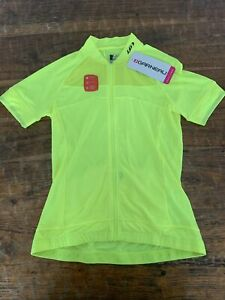 Louis Garneau Women's Beeze Jersey Neon Yellow Small NWT