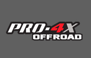 PRO-4X Red Nissan Titan Frontier 4x4 Off Road Truck Bedside Decals Sticker 2/Set