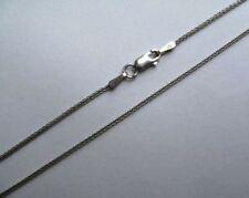 Collares y colgantes de joyería de metales preciosos sin piedras cadena de oro blanco de 18 quilates
