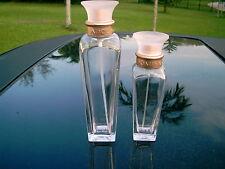 two (2)  Empty ADOLFO DOMINGUEZ Perfume Bottles 30ml and 50ml empty
