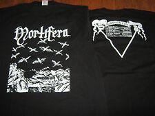 "MORTIFERA ""Maledictiih"" Tour T-Shirt L celestia xasthur peste noire"