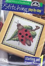 Ladybird Cross Stitch Kit DMC K3606 couture par étape Gamme