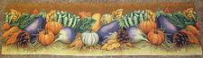 Harvest Time ~ Fall Autumn Tapestry Table Runner