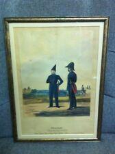 German Oldenburg Grande Duche Soldiers Military Print