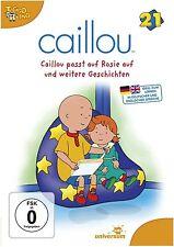 CAILLOU, DVD 21: Caillou passt auf Rosie auf und weitere Geschichten (NEU+OVP)