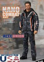 1/6 Nano Combat Jacket Suit Set F-080 For Iron Man Infinity War Tony Stark USA