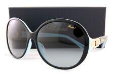 Brand New Chopard Sunglasses SCH 173G 07VL Black/Blue/Grey Gradient For Women