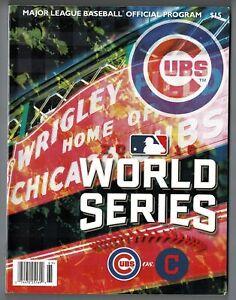 2016 World Series Official MLB Baseball Program! Good Condition! 13769