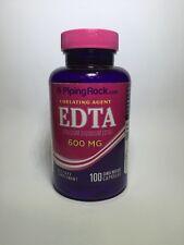 EDTA Chelation Calcium Disodium 600mg 100 Capsules