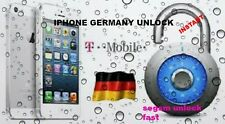 Factory unlock iphone  3,3gs,4,4s,5,5s,5c  T-mobile Germany INSTANT