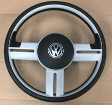 VW LUPO 3L 3 SPOKE STEERING WHEEL WITH AIRBAG GOLF MK1 MK2 MK3 POLO GTI