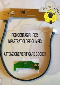 SCHEDA CONTAGIRI PCB  per impastatrici  DPE/OLIMPIC - VERIFICARE CODICI !!!