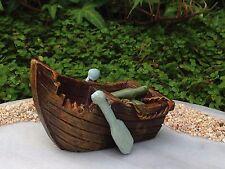 Miniature Dollhouse FAIRY GARDEN ~ Ocean UNDER THE SEA Row Boat