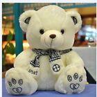 New! 12'' Cute Scarf Teddy Bear Stuffed Animal Doll Plush Soft Toy xmas Gift new