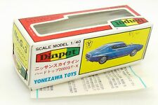 DIAPET YONEZAWA BOITE VIDE NISSAN SKYLINE HARDTOP 2000 GTX #G-3 08-0116 ONLY BOX