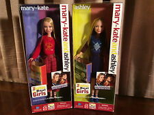 2001 MARY-KATE & ASHLEY Olsen Dolls NIB *Real Fashion* Hard To Find! #6565