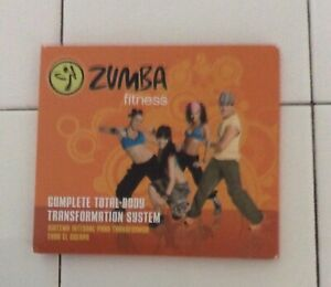 Zumba Fitness Total Body Transformation System Three DVD Set Never Used