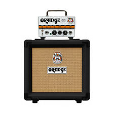 Orange Micro Terror 20 Watt Amplifier Head With Black Ppc108 Cabinet (new)